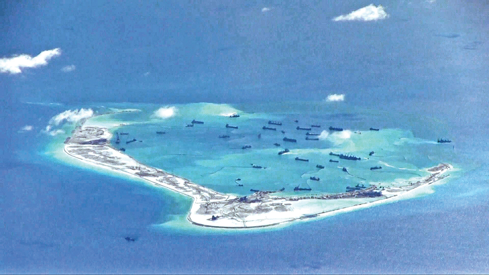 Japan: Militarized islands would expand China influence