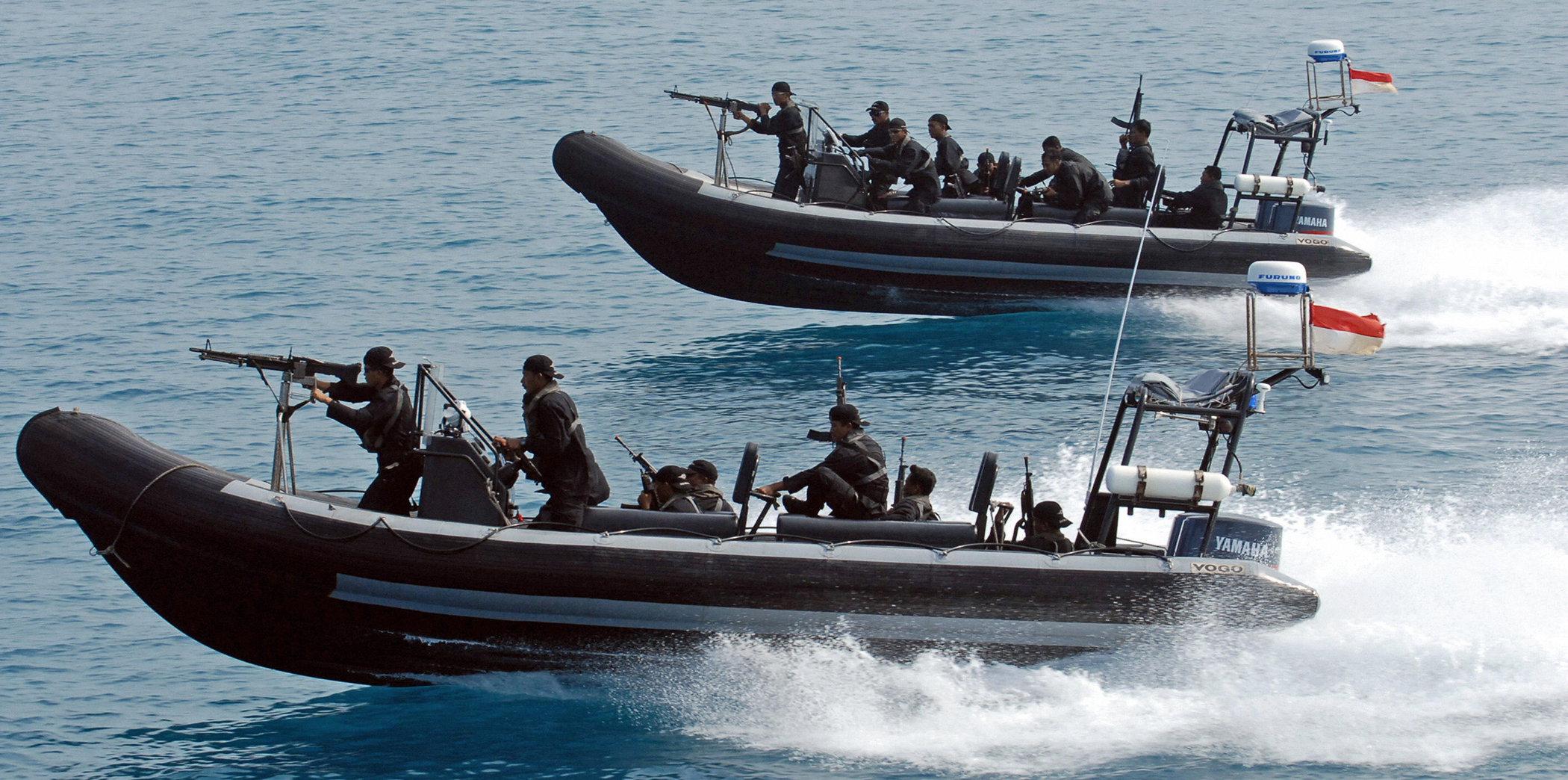Indonesia and Malaysia join efforts against piracy