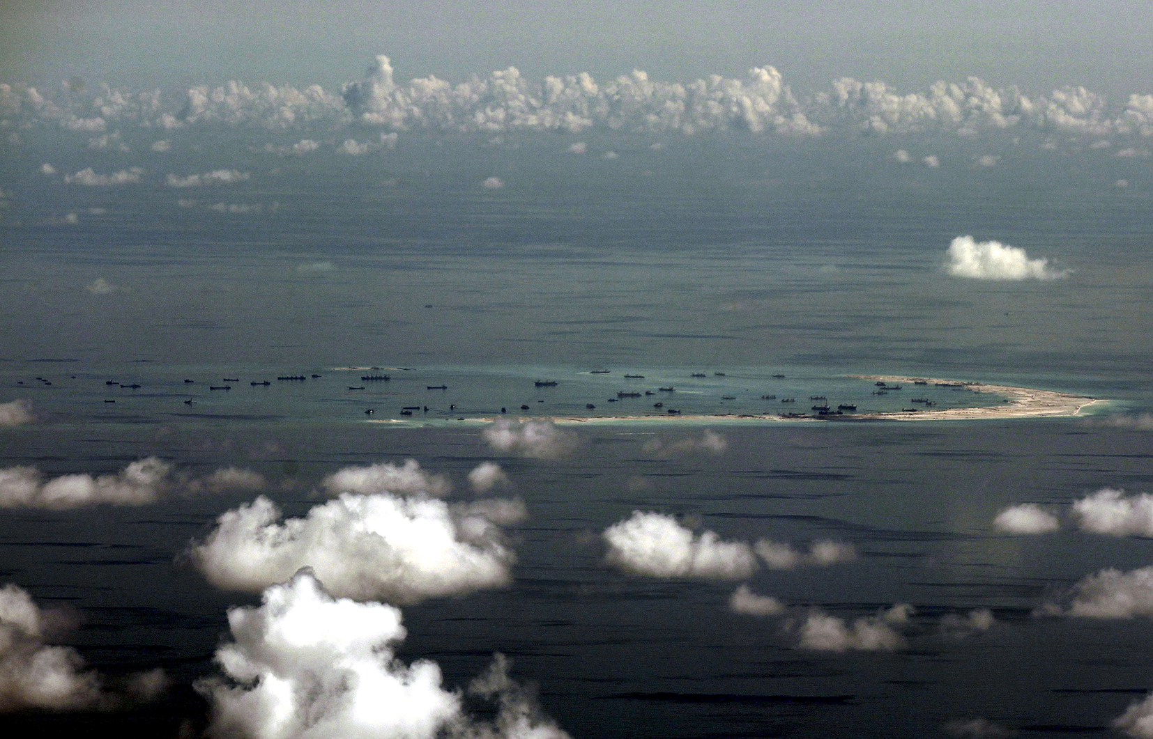 Pentagon Report Concludes Chinese Land Grab in South China Sea has Grown