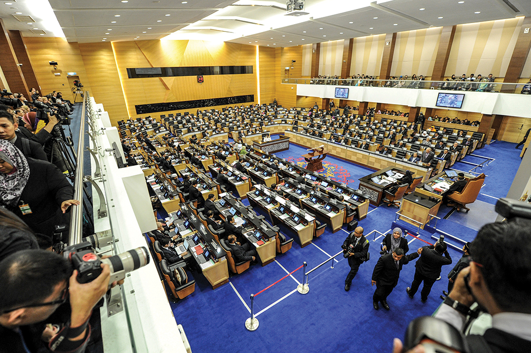 Malaysia passes anti-terror law to curb Islamic militants