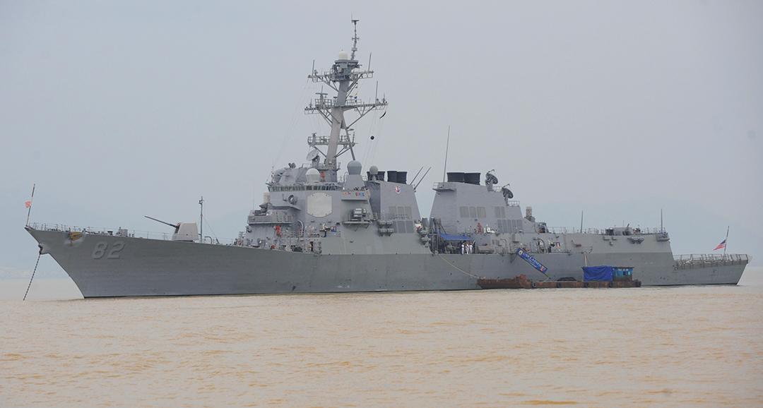 TANYA JAWAB: Apa dampak dari kapal A.S. yang berlayar di dekat pulau yang diduduki oleh Tiongkok?