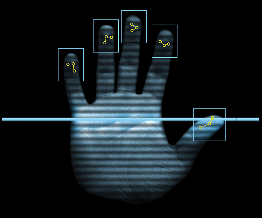 Biometrics Build Border Security