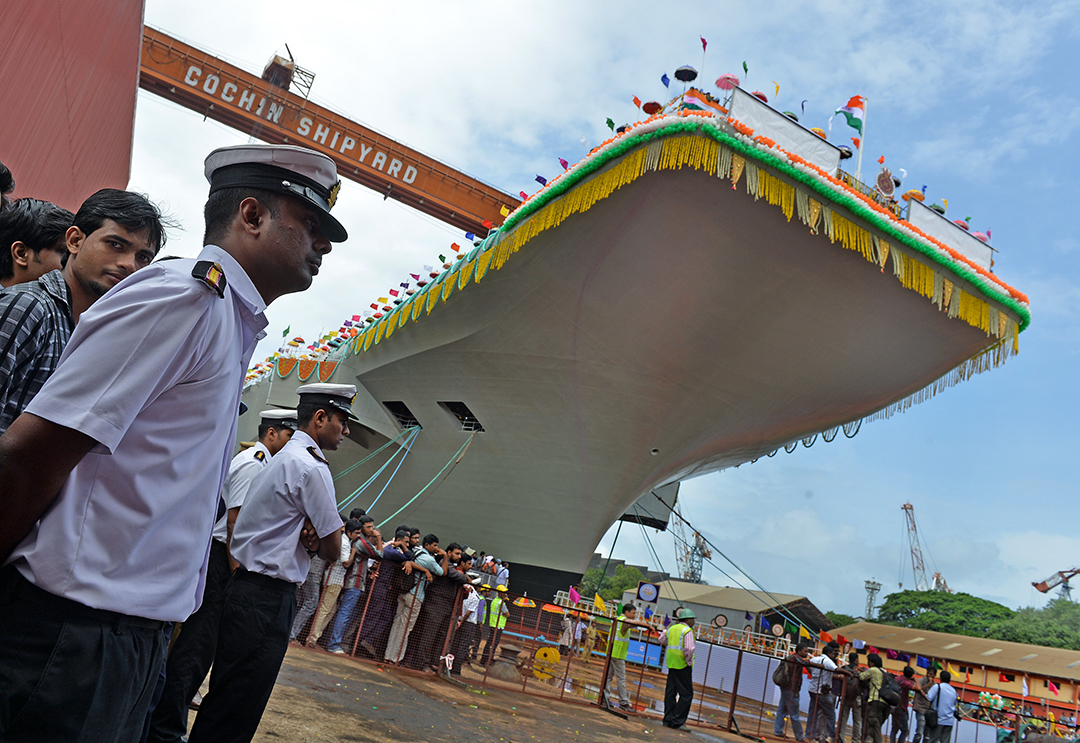 India wants to build nuclear-powered aircraft carriers
