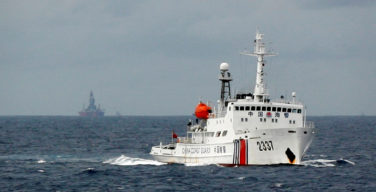 Study reveals Chinese coast guard involved in over 70 percent of South China Sea incidents