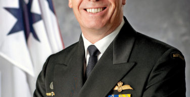 Vice Adm. Tim Barrett, Chief of Navy for the Royal Australian Navy (RAN)