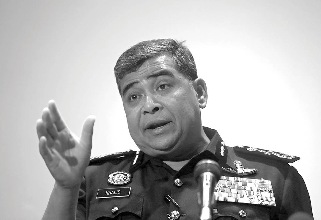 Malaysia's police chief, Inspector-General Khalid Abu Bakar, said in March 2016 that the counterterrorist department would expand to have units in every state. REUTERS