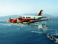 Japan plans to lease to the Philippines five Beechcraft TC-90 King Air planes, similar to the Japan Maritime Self-Defense Force TC-90 training aircraft pictured.  REUTERS