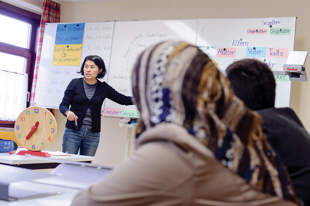 Germany: A Training Plan for Refugee Teachers