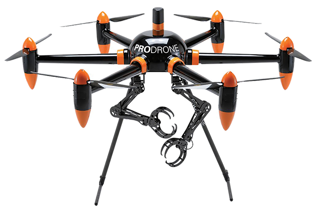 Two-handed Drone
