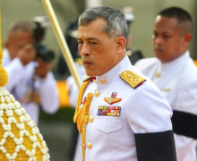 Thai king's coronation likely by the end of 2017