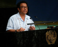 Radar installation on Palau designed to aid in detecting North Korean threats