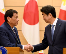 Japan pledges to help Philippines rebuild Marawi