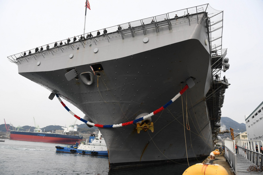 Aircraft carriers still key to security in Indo-Pacific