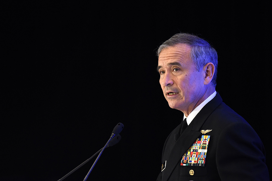 U.S. Pacific military chief calls China a disruptive force
