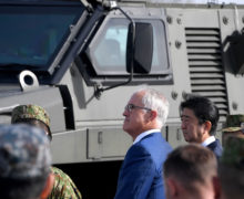 Japan, Australia push for defense pact