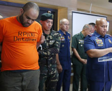 Philippine forces arrest alleged ex-ISIS commander