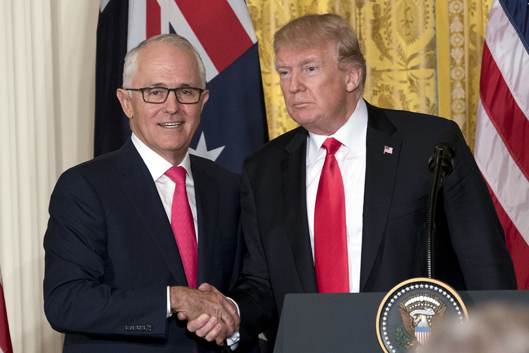 Australia-U.S. seek common ground on trade, China