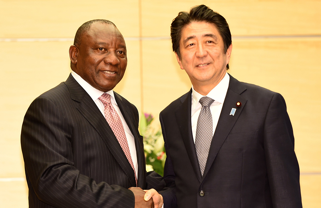 Japan committed to investment, development in Africa