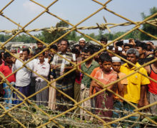 Bangladesh relocates Rohingya ahead of monsoon season