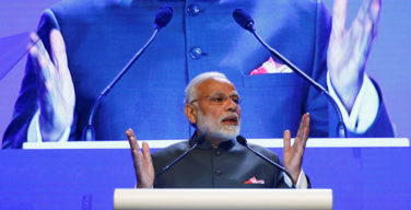 Modi urges neighbors to protect freedom of navigation