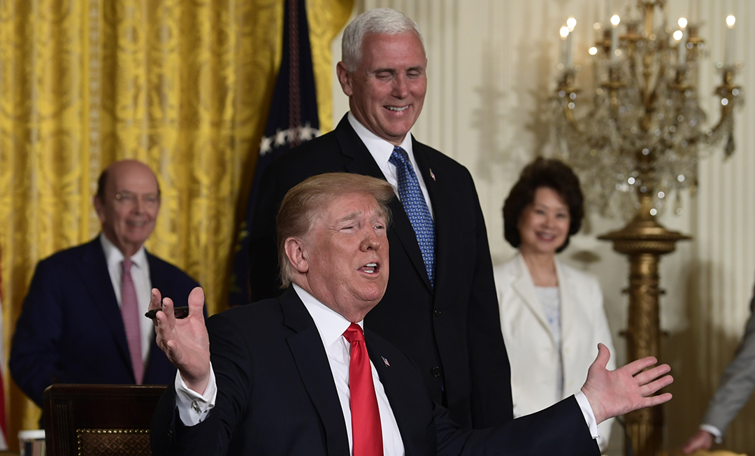 President Trump announces plans to create Space Force