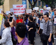 Vietnamese protests fueled by distrust of government's China policy