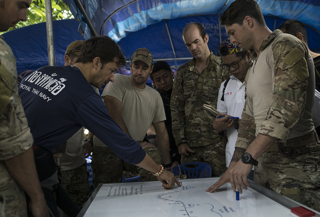 Royal Thai Navy personnel leverage lessons, assistance from U.S. counterparts in cave rescue