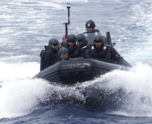 Japan hosts multinational drills to intercept weapons at sea