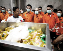 Indonesia: Record crystal meth bust