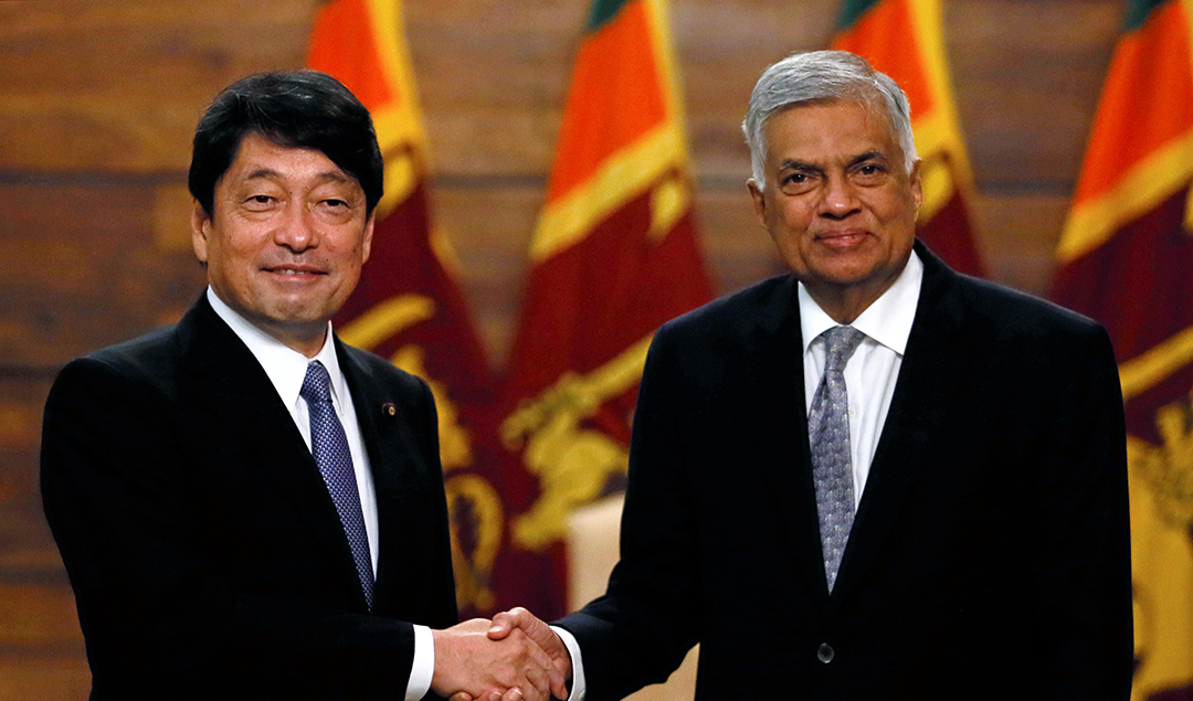 Nations look to invest in Sri Lanka to counter China's expansionism