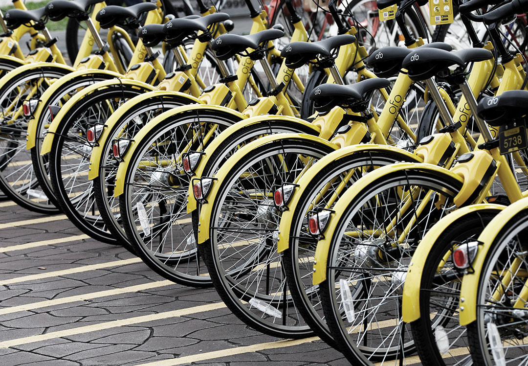 Asia: Bike-sharing takes off