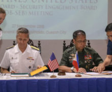 Philippines increasing joint military activities with U.S. in 2019