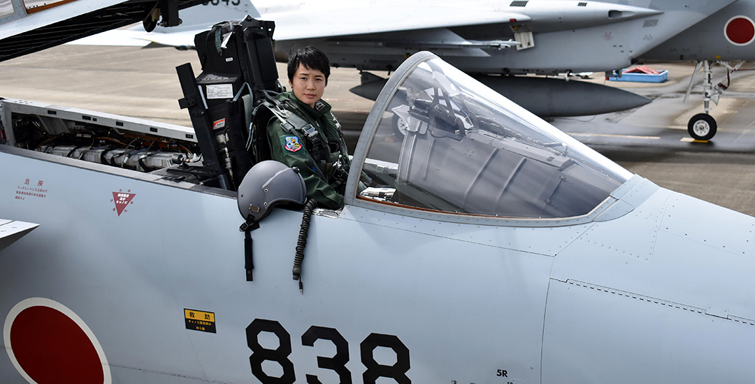 Women finding more opportunities in Japan's military