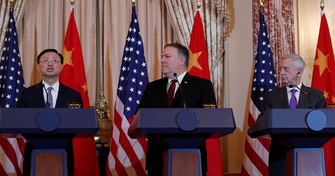 U.S. presses China to halt militarization of South China Sea