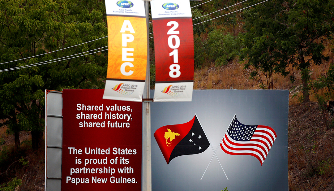 Amerika Serikat meningkatkan dukungan kepada Papua Nugini selama KTT APEC