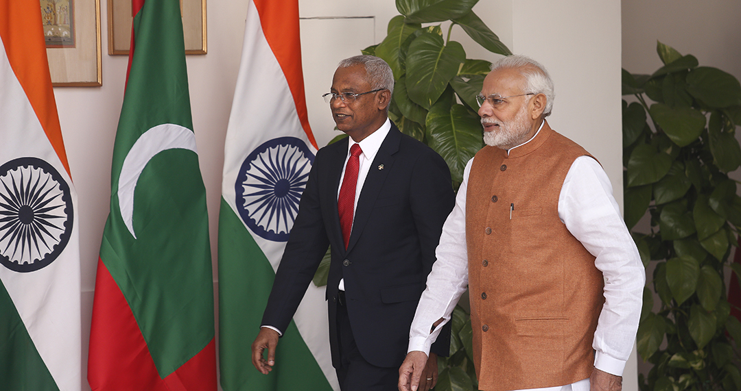 India, Maldives strengthen ties to counter Chinese coercion