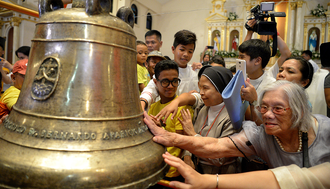Return of bells signals strong U.S.-Philippine alliance