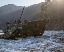 極寒の下、能力を磨く大韓民国国軍