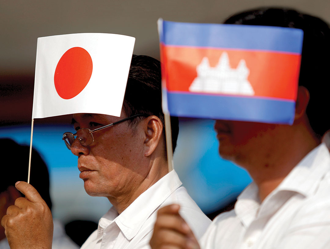 JAPAN/CAMBODIA: Aid Agreement