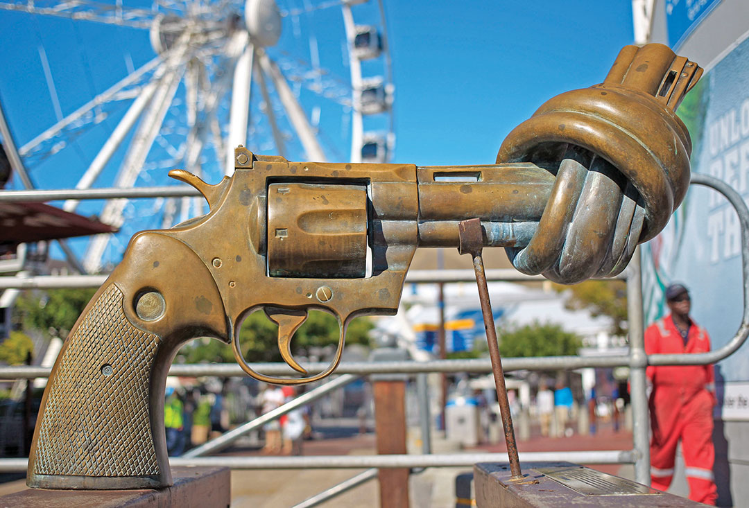 South Africa fights gun violence