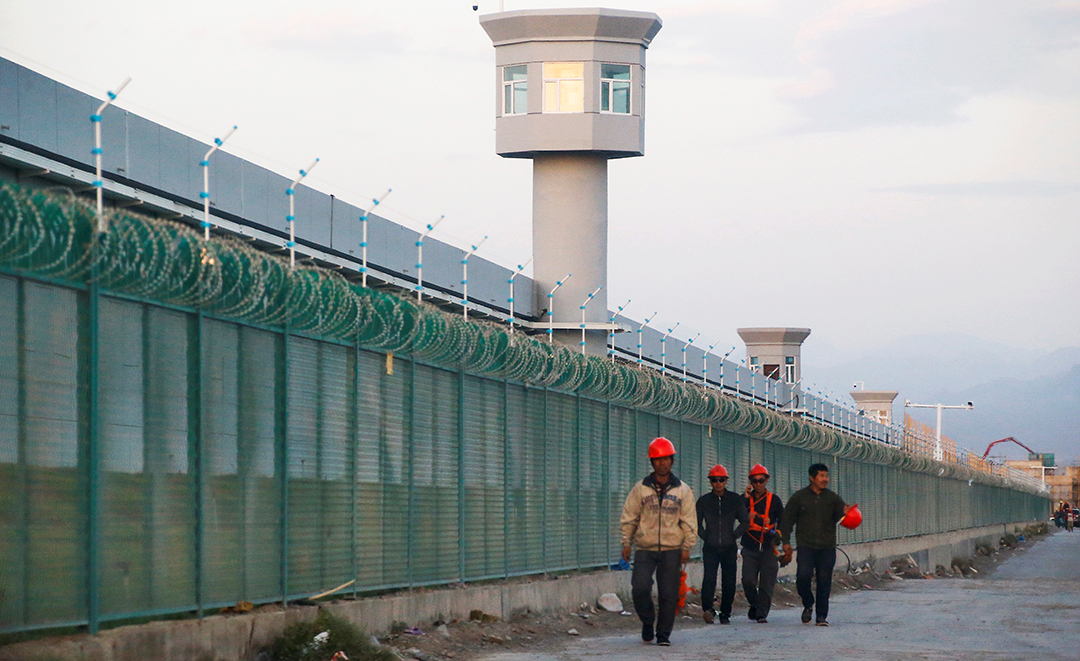 U.S. says PRC putting Uighur Muslims in 'concentration camps'