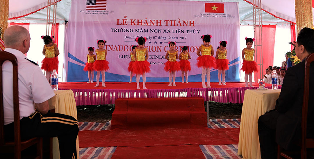 U.S. Army Corps of Engineers builds bright futures for children in Vietnam