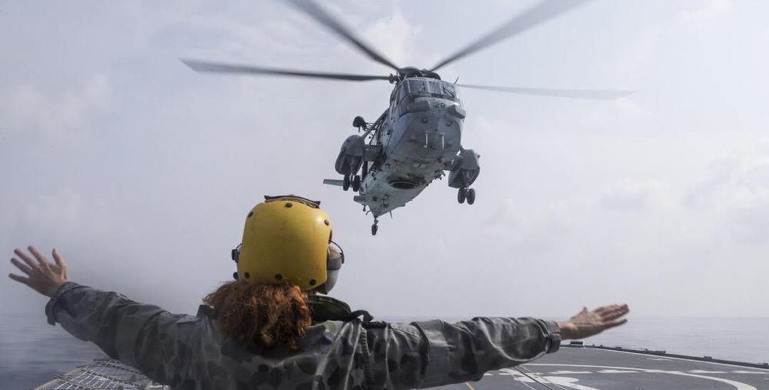Australian, Indian navies build bonds during anti-submarine warfare exercise
