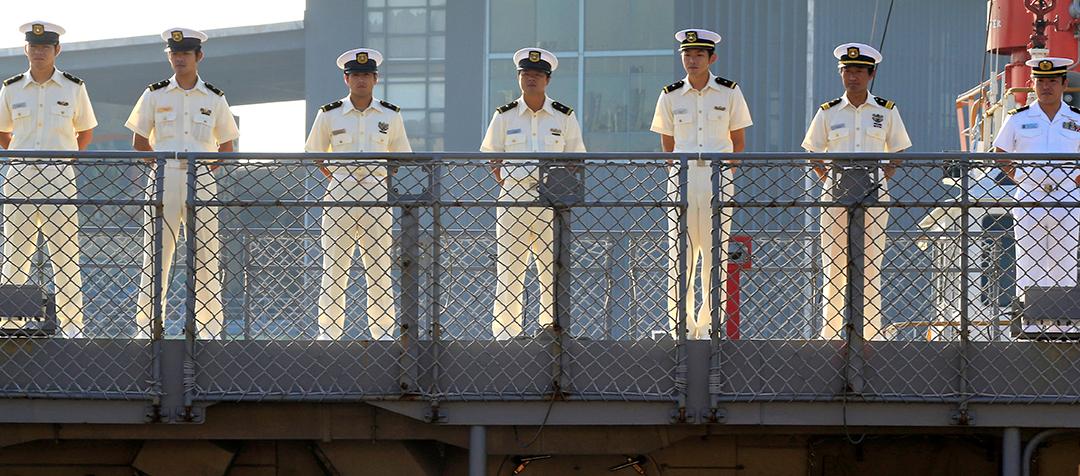 海賊対処活動に永続的な支援を提供する日本