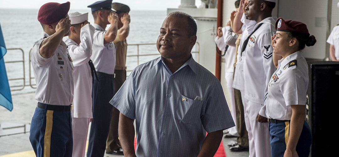 Shoring up Palau's security against nontraditional threats