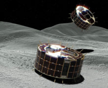 Japan: Rovers explore asteroid