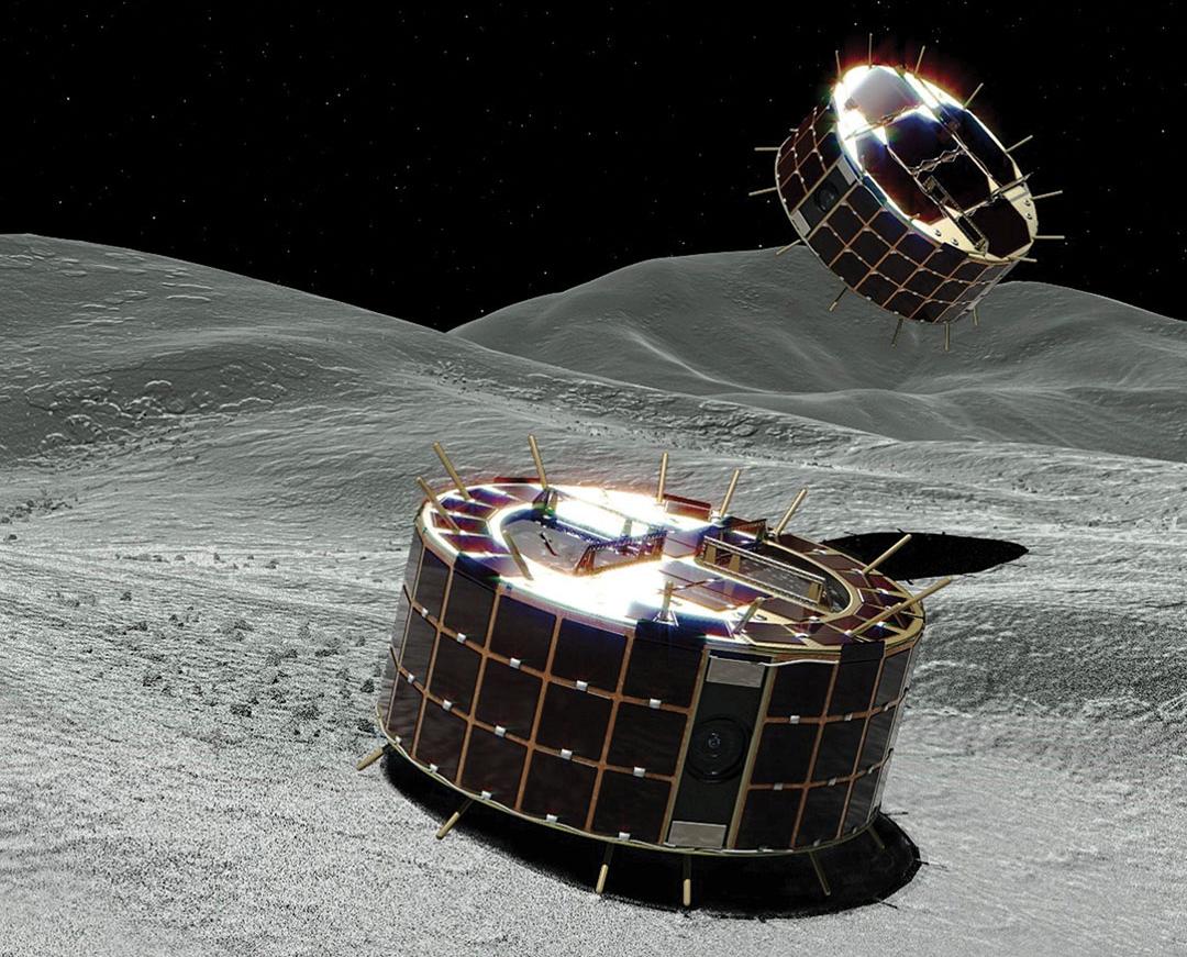 日本: ローバーで小惑星を探査