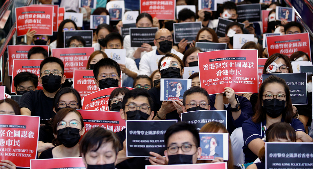 PRC online misinformation campaign against Hong Kong protesters exposed