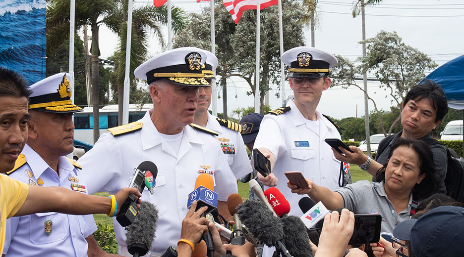 U.S. promotes free and open Indo-Pacific during naval exercise
