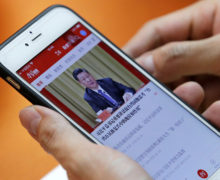 China tightens control of media through app